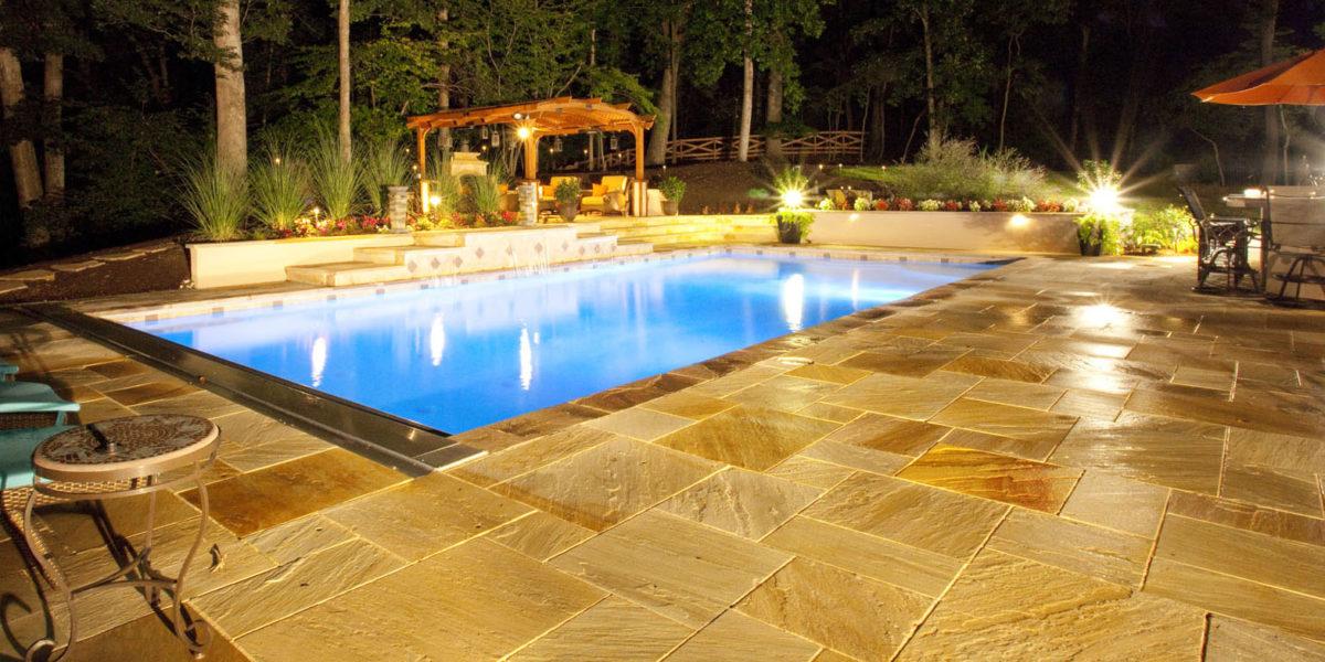 inground-pool-at-night